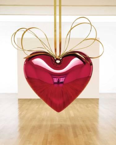 Jeff Koons (1994-2006) 'Hanging Heart'