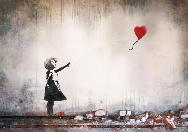 Banksy (2002) 'Girl With a Balloon'